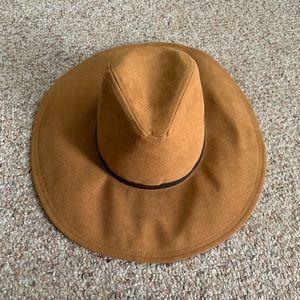 Zara Carmel Color Hat